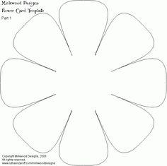 Hoje temos novos moldes de flores. Notei que muitas de nossas leitoras adoraram a ideia de ter moldes de flores para imprimir e usar nos seus artesanatos, por isso peguei novos. Materiais: Computador/impressora Folhas brancas Passo a passo: Selecione os moldes da nossa galeria de imagem, deste jeito, eles
