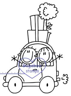 Welcome to Bugaboo Digi Stamps - go ahead....make someone smile