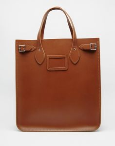 Image 1 of The Cambridge Satchel Company Leather North South Tote Bag