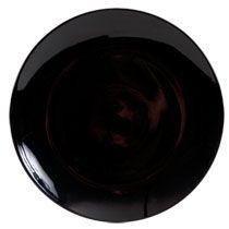 "Bulk Royal Norfolk Classic Black Stoneware Dinner Plates, 10½"" at DollarTree.com"