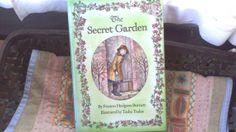The Secret Garden by Frances Hodgson Burnett by ArtandBookShop, $10.00