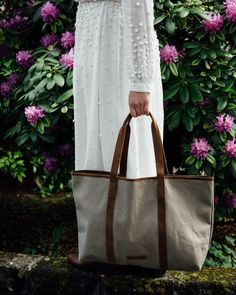 Whether you are a keen traveller or a sophisticated shopper, we have introduced a perfect mix of canvas & leather bags to fit your needs perfectly. Canvas Shopper Bag, Canvas Backpack, Canvas Tote Bags, Canvas Leather, Leather Bags, Canvas Handbags, Leather Accessories, Shoulder Bag, Summer