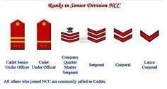 NCC Ranks And Insignia