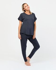 A simple and understated top that will surely become your maternity staple, the Luna Top allows room for your bump while falling flatteringly from your shoulders. Softly hemmed sleeves keep you cool and comfortable, whilst the breathable bamboo fabric feels like a cool breeze against your skin.  Organic bamboo Mid-length sleeves Thermoregulating sleepwear Natural and hypoallergenic bamboo benefits including odour-wicking, antibacterial, moisture-wicking Designed and handcrafted in Australia Technology Design, Keep Your Cool, Mid Length, Bump, Warm Weather, Breeze, Bamboo, Maternity, Feels