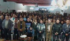 """Con la """"Q"""" como consigna, Quintela encabeza junto a Hugo Vera en Sanagasta encuentro para profundizar el cambio en Capital"""
