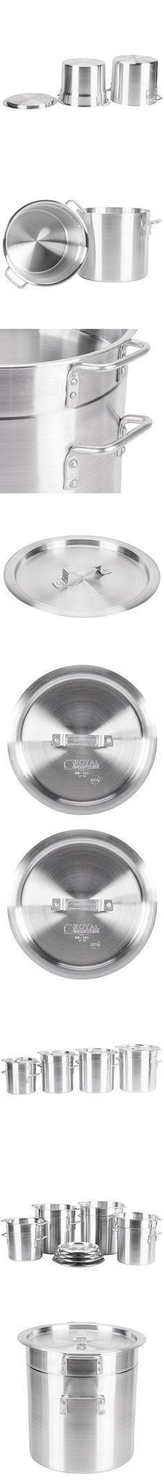 16 Qt. Aluminum Double Boiler