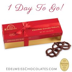 Ends today! Celebrate the holidays with $5 flat rate shipping*  Shop now: http://bit.ly/1uOuW2c *On orders $25-$360. #chocolates #chocolatecoveredpretzels #beverly hills #bh #losangeles #gourmetchocolates #candy #christmas
