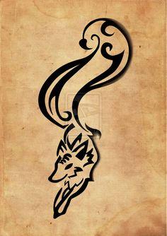 Custom Fox Tattoo by ~halie-tee on deviantART