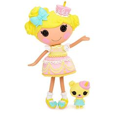 Welcome to the official Lalaloopsy website! Watch the We're Lalaloopsy Netflix trailer and other fun videos, learn about your favorite Lalaloopsy characters, check out photos, and more! It's Your Birthday, Girl Birthday, Surprise Birthday, Birthday Parties, Birthday Cake, Birthday Candles, Doll Dress Up Games, Doll Toys, Barbie Dolls