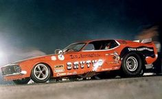 Vintage Ford Funny Car | Brutus Ford Mustang Funny Car | Vintage Drag Racing | Pinterest