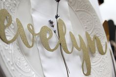Image of Large Glitter Card Place Name