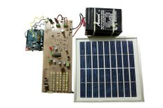 The main aim of this project is to develop LED based street lights with auto intensity control system by using Arduino board and solar power from photovoltaic cells. Solar Street Light, Street Lights, Solar Energy, Solar Power, Arduino Based Projects, Photovoltaic Cells, Electronic Kits, Arduino Board, Old Street