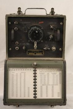 Military Radio Frequency Meter...