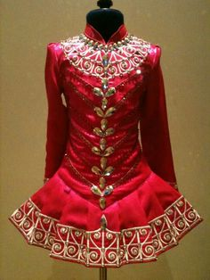 Elevation Designs Irish Dance Solo Dress Costume. this is a dress that would look so elegant on an &Over