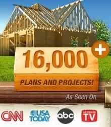 Woodwork blueprints for furniture, sheds, boats, playhouses etc.