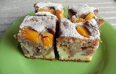 Joghurtos kevert sütemény idénygyümölccsel. - Blikk Rúzs Hungarian Desserts, Hungarian Cake, Hungarian Recipes, Croatian Recipes, Sushi, French Toast, Muffin, Low Carb, Sweets