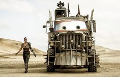 If Pixar Made 'Mad Max: Fury Road'