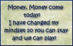 It is fun to change your money mindset.  I worked hard at this weekend and made the cashier sweat...