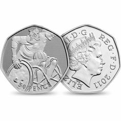 London 2012 Olympics - Wheelchair Rugby 50p coin