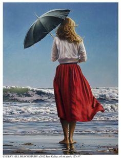 Belas pinturas de Paul Kelley