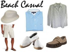 Beach Casual Mens Wear