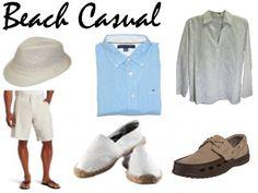 Beach Casual Mens Wear
