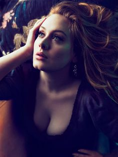 so beautiful,so so talented.......Adele by Mert Alas & Marcus Piggott for Vogue March 2012