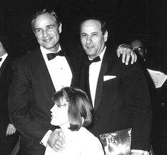 Eli Wallach, Anne Jackson & Marlon Brando #Brando #Wallach