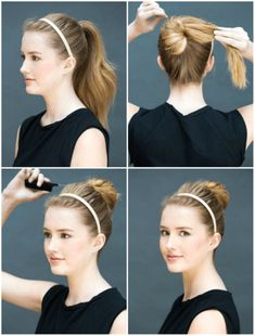7 quick hairstyles that will make you look spectacular in just a few minutes LikeMag - Social News a Easy Hairstyles For Medium Hair, Fast Hairstyles, Elegant Hairstyles, Medium Hair Styles, Girl Hairstyles, Braided Hairstyles, Long Hair Styles, Elegance Hair, Glamorous Hair