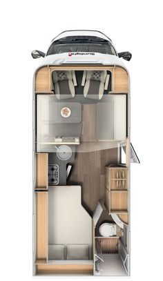 Capron GmbH Neustadt – Motorhomes from Saxony – CARADO – Semi-Integrated - caravan Van Conversion Interior, Camper Van Conversion Diy, Van Conversion Floor Plans, Sprinter Van Conversion, Motorhome Vintage, Vintage Airstream, Motorhome Sprinter, Travel Trailer Floor Plans, Hymer