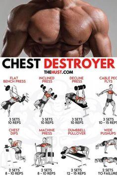Super chest destroyer workout plan