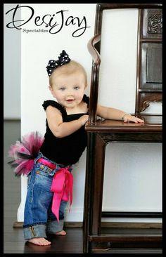 Tutu Belt-pink, white, black