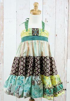MELLOWBROOK TIERED ELLIE DRESS $74.00 | Code: P15FD100