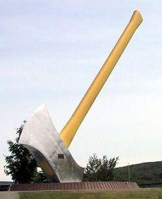 Worlds Largest Axe - Nackawic, NB
