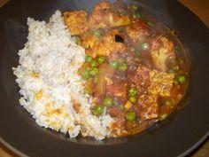 Recipe:  Cauliflower Tempeh Curry