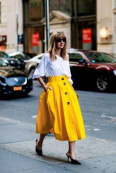 New York Fashion Week Street Style | British Vogue  #SS17 #NYFW September 2016