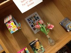 Paper tulips at the 2014 Book Fair