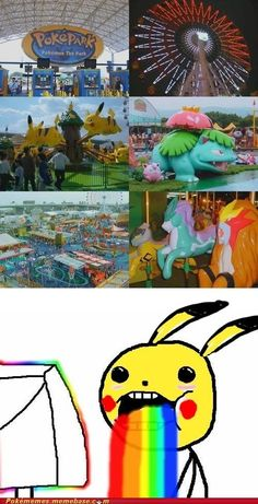 Funny pictures about Pokemon Park. Oh, and cool pics about Pokemon Park. Also, Pokemon Park photos. Pokemon Gif, Pokemon Park, Pokemon Memes, Cute Pokemon, Pokemon Stuff, Real Pokemon, Memes Estúpidos, Funny Memes, Hilarious