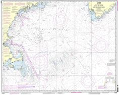 NOAA Nautical Chart 13009: Gulf of Maine and Georges Bank ($20.75)