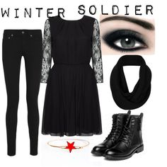 The Winter Soldier by katwhisky on Polyvore