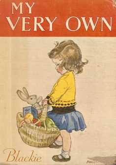 """Cover by Mary Brooks, for """"My Very Own"""", Blackie, undated (late 1940s)."""