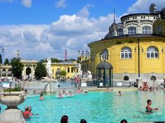 Szechenyi Thermal Baths Budapest was still able to cast its spell on me, with its grand cafes, its turn-of-the-last, last century Belle Epoque baths, and innumerable beautiful bridges that cross the blue Danube...