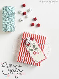 Ghirlanda di Popcorn | progetti creativi: #5 : Jingle bells package