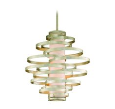 Corbett Lighting Vertigo Modern Silver 6-Lt Pendant in Ceiling Lights, Pendants, Ceiling Pendants: LightsOnline.com