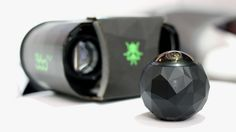 The dome-shaped 360gly camera records HD-Quality video a 30 frames per second, 360 degrees around an 240 degrees up and down