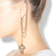 Hook A-Cross Earring
