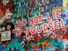 Lennon Wall In Prague Free Stock Photo - Libreshot