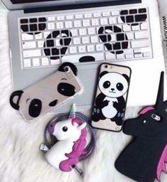 Panda-love i want thus but not the unicorns Panda Face, Panda Panda, Panda Bears, Panda Decorations, Baby Animals, Cute Animals, Latest Cartoons, Cute Panda Wallpaper, Panda Wallpapers