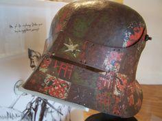Gothic Script, Bold Colors, Colours, Battle Dress, Mask Painting, Helmet Design, Medieval Armor, 15th Century, Helmets