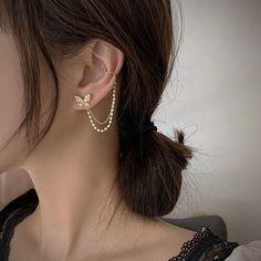 Chain Earrings, Ear Chain, Bridesmaid Gifts, Silver Ear Cuff, Hair Slide, Jewlery, Jewelry Box, Gifts For Her, Jewellery Storage